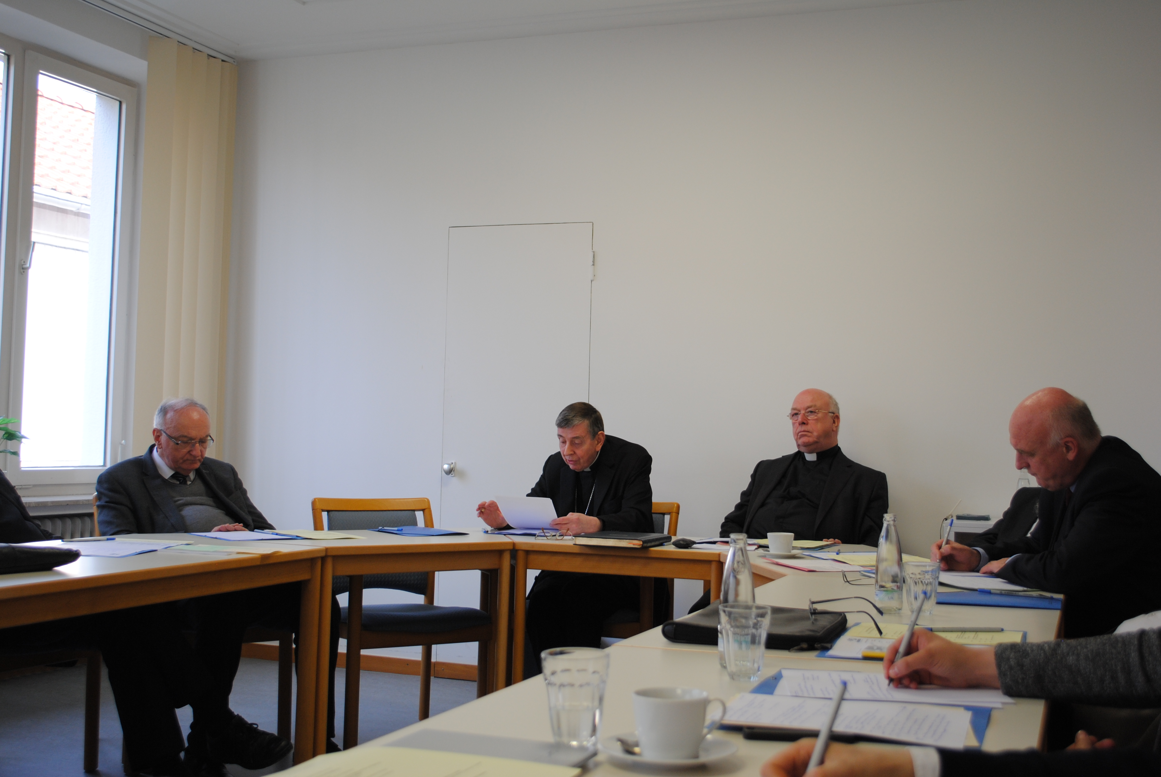 Kurt Cardinal Koch informs the committee about the current work of the Pontifical Council for Promoting Christian Unity